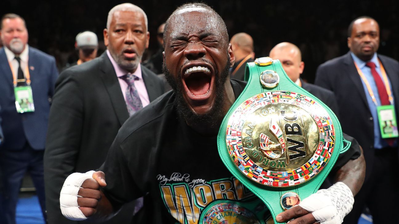 Wilder does his part to build anticipation for heavy collision with Joshua