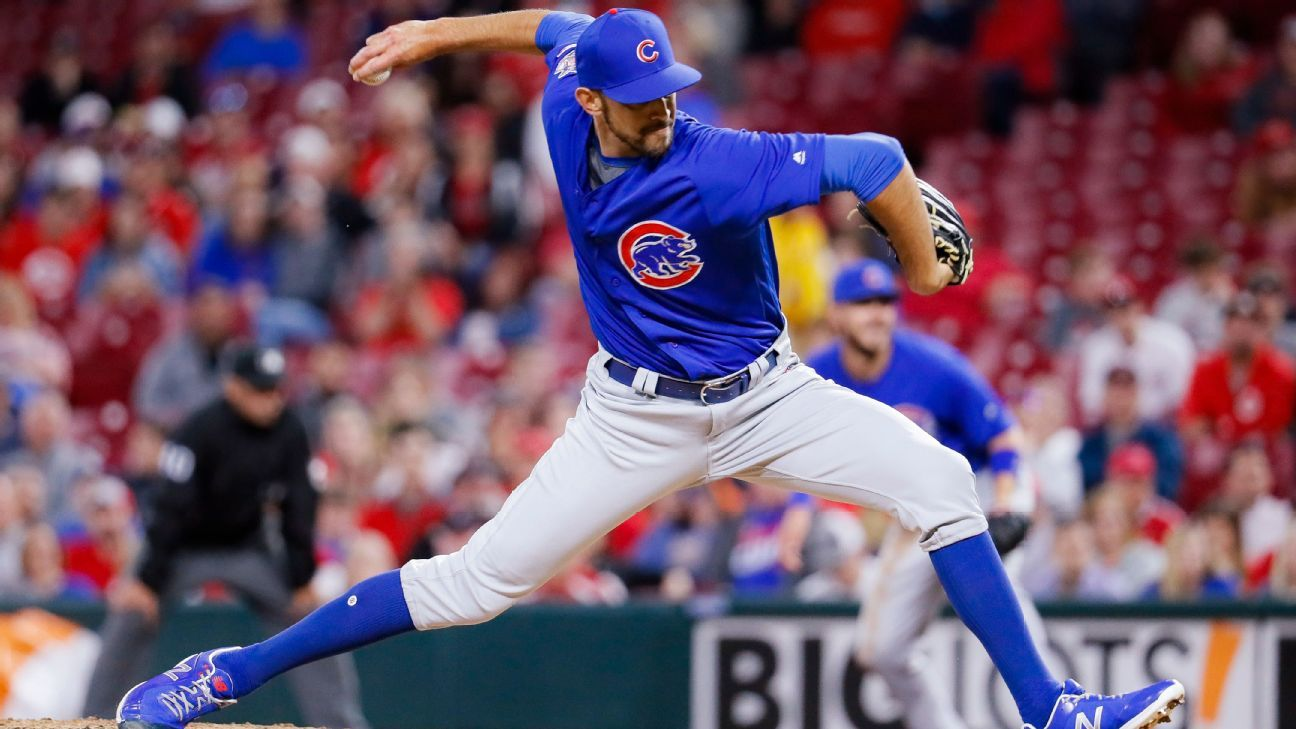 Cubs activate reliever Cishek from IL