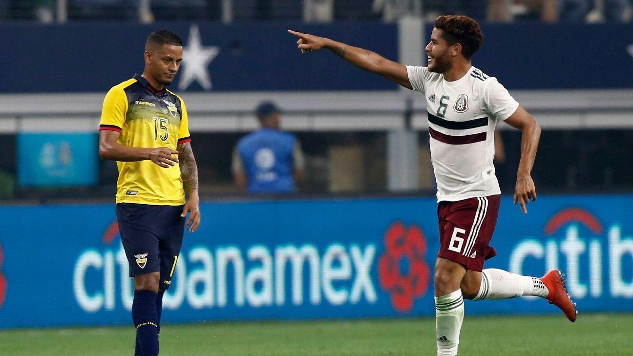 Mexico Vs Ecuador 2019