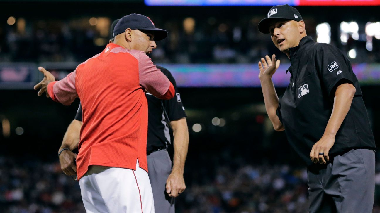 Emotions run high at Fenway as 3 ejected