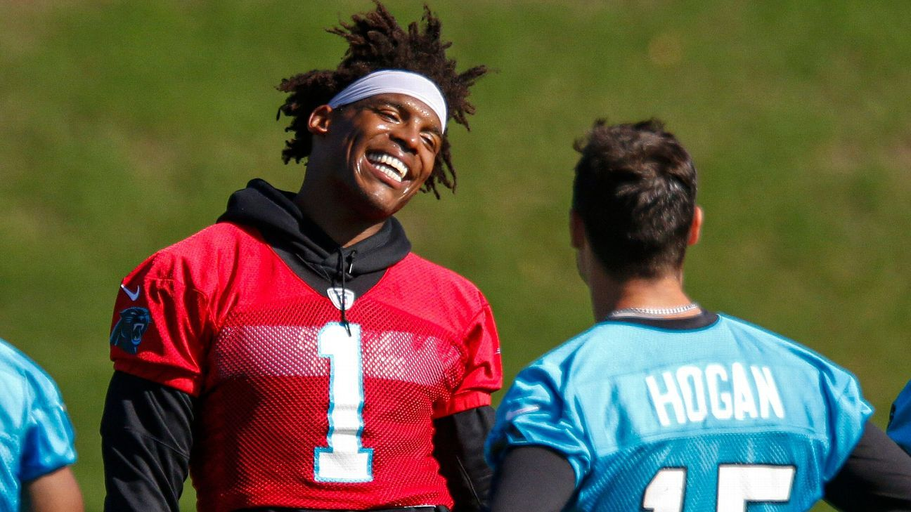 Chris Hogan sees positive parallels between Cam Newton and ...