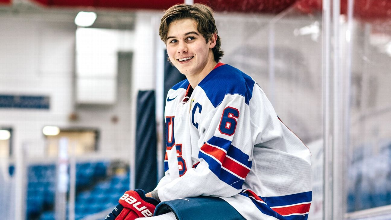 NHL's Jack Hughes, MLB's Bobby Witt Jr., top young athletes write letters to future selves