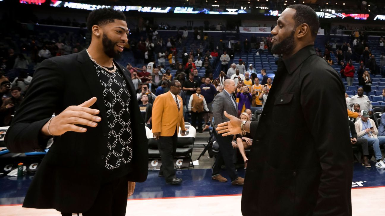 Social media reacts to AD trade: 'NBA is a 365 operation'