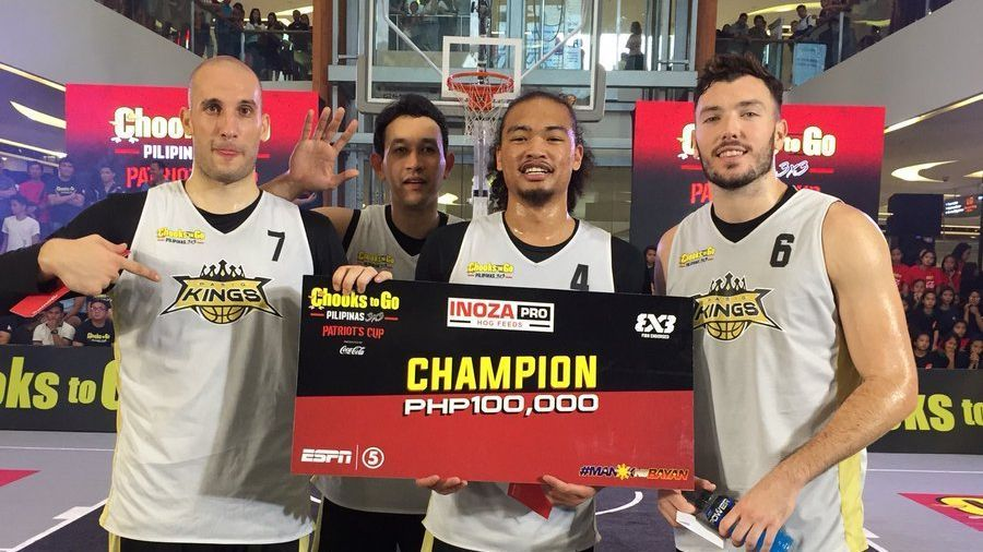 Pasig Kings reign supreme in Cebu leg of Chooks-to-Go Pilipinas 3x3 Patriot's Cup