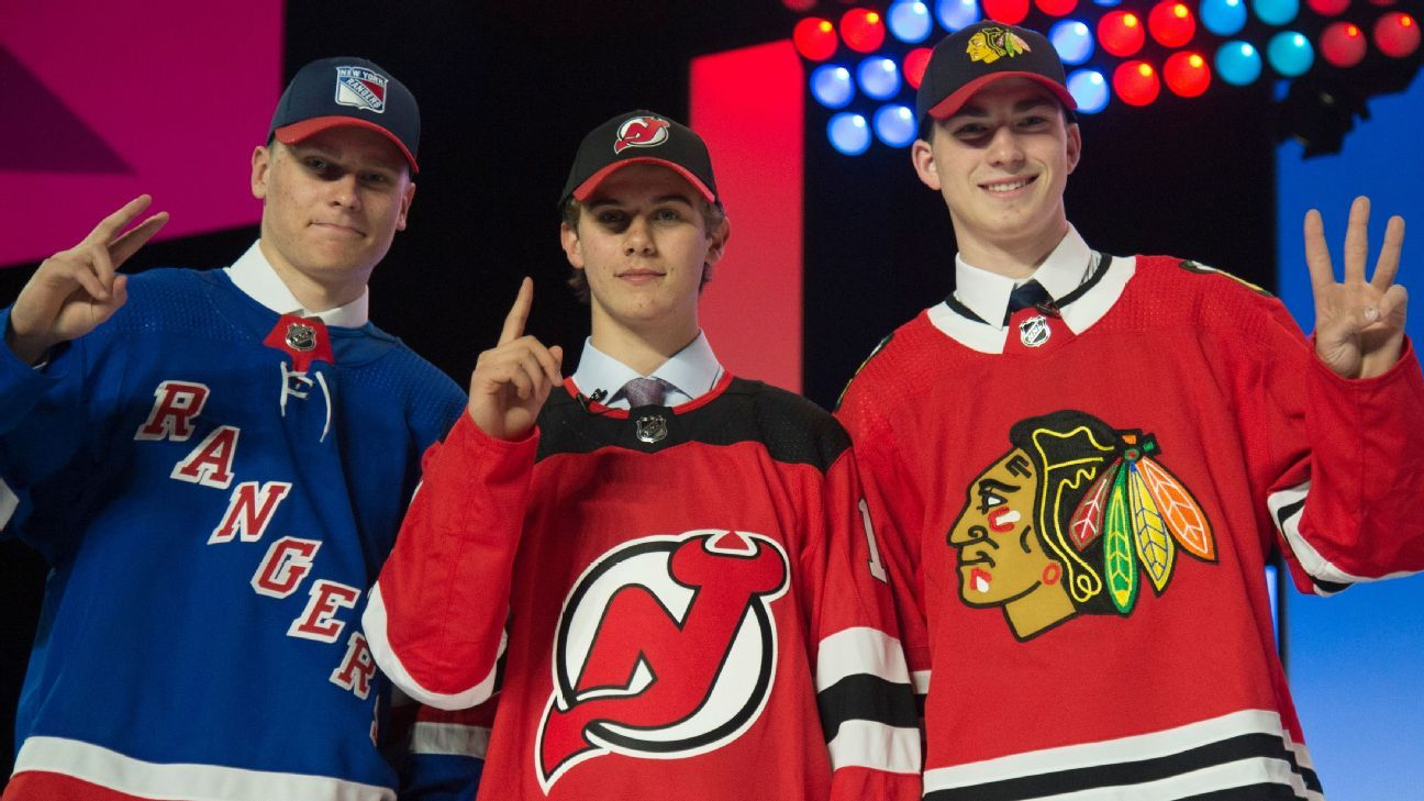 finest selection 4803d 65f5f 2019 NHL draft grades - Best picks, value steals and more for all 31 teams