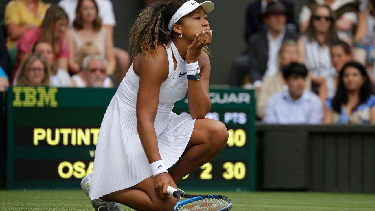 Osaka, Venus ousted in 1st round at Wimbledon