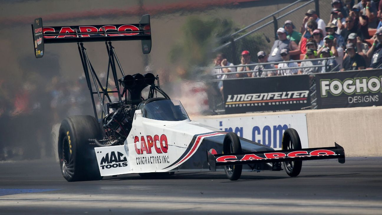 Steve Torrence tops qualifying at NHRA season finale