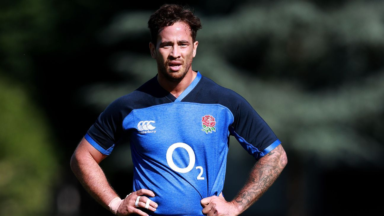 Cipriani separated from England squad for fitness work