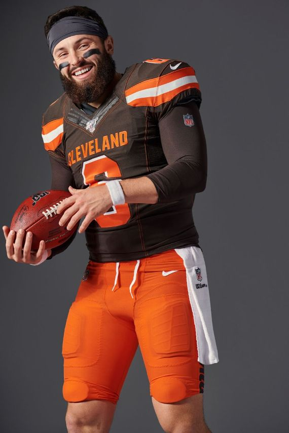 7ef344b5 Cleveland Browns quarterback Baker Mayfield isn't afraid of the hype