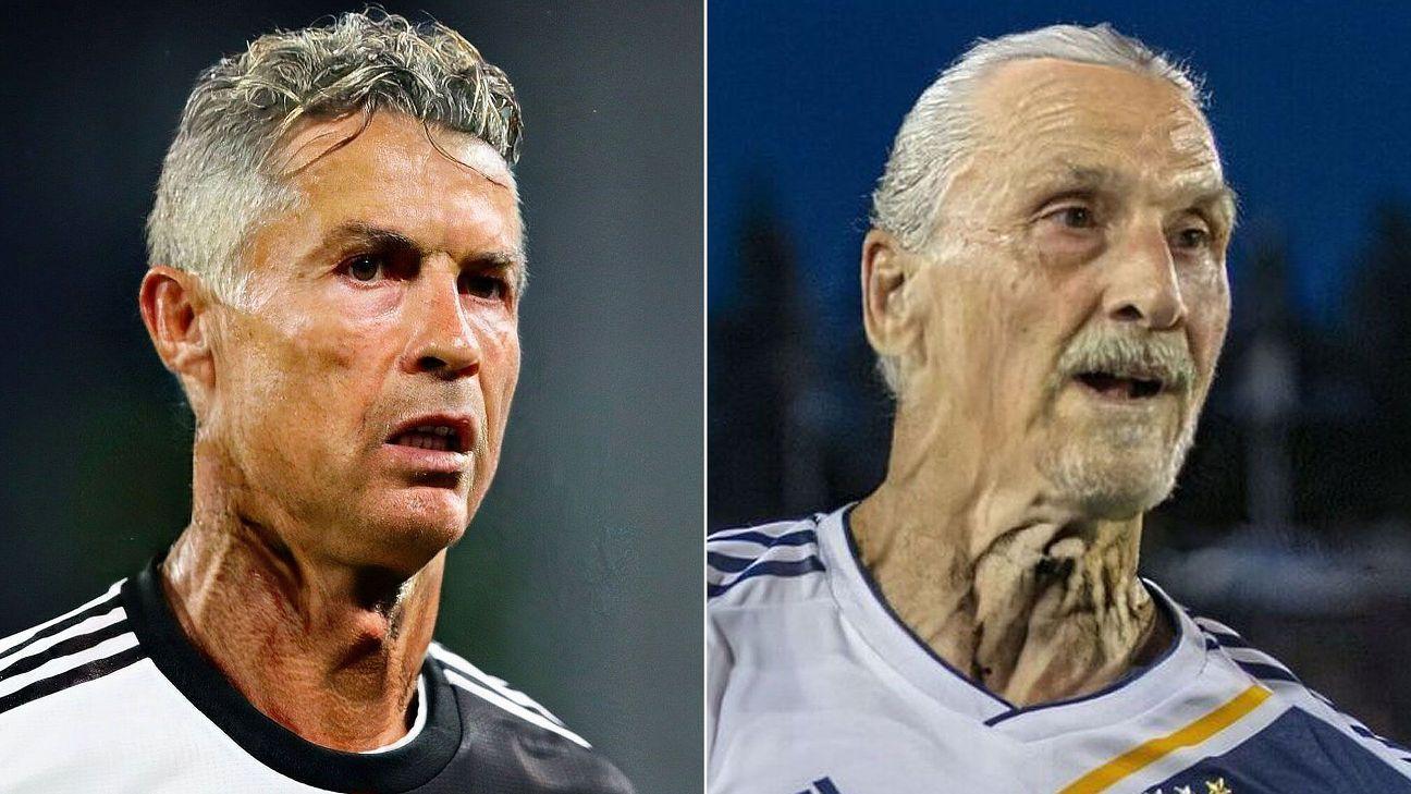Toe Poke Daily: Messi, Ronaldo and football's biggest stars put through the ageing app
