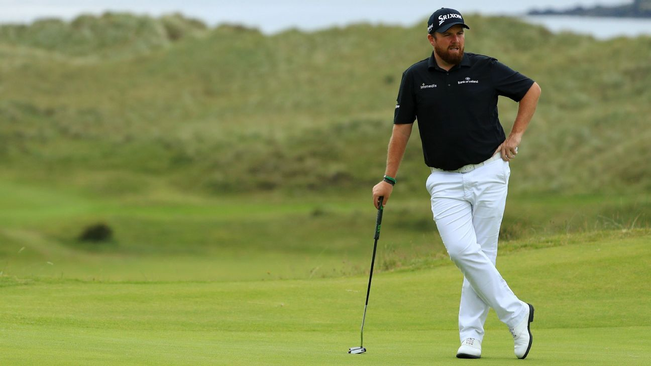 can anyone catch shane lowry at the open