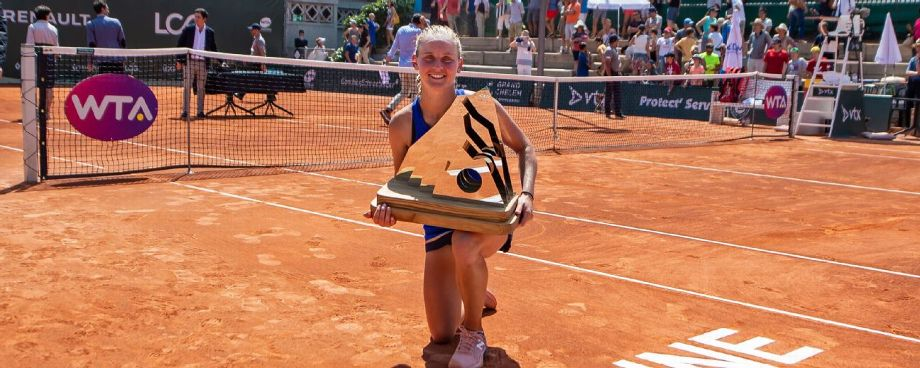 Ferro stuns Cornet to win first WTA title at Swiss