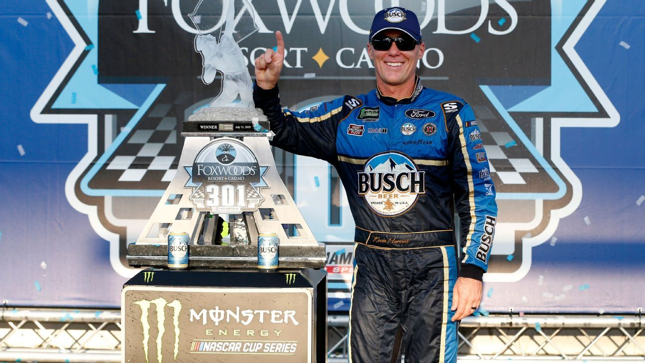 NASCAR StatWatch: Kevin Harvick's 16th season with a Cup series win