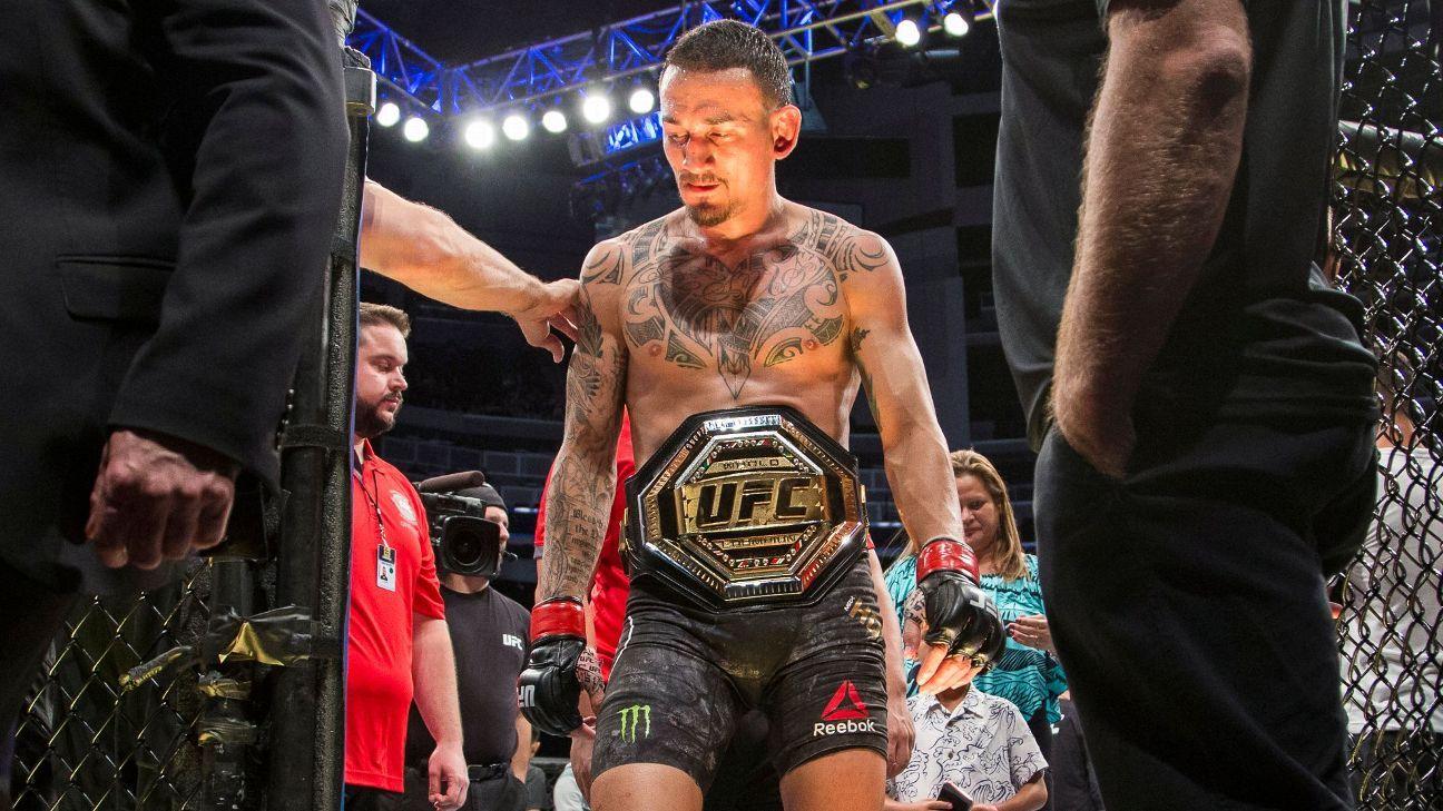 Sources: Holloway-Volkanovski set for UFC 245