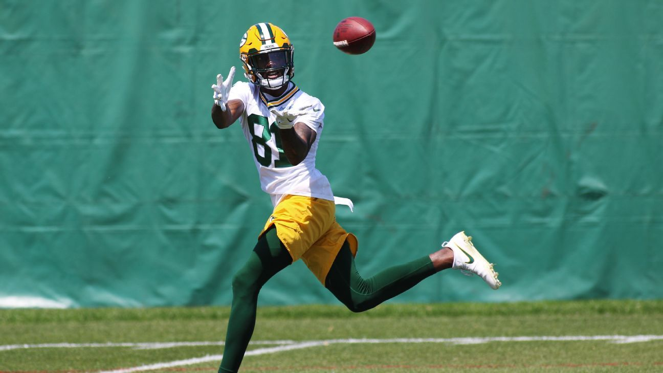 Besides Davante Adams, are Packers' receivers any good