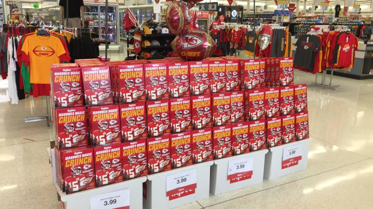 Super Bowl Mahomes Excited About New Cereal