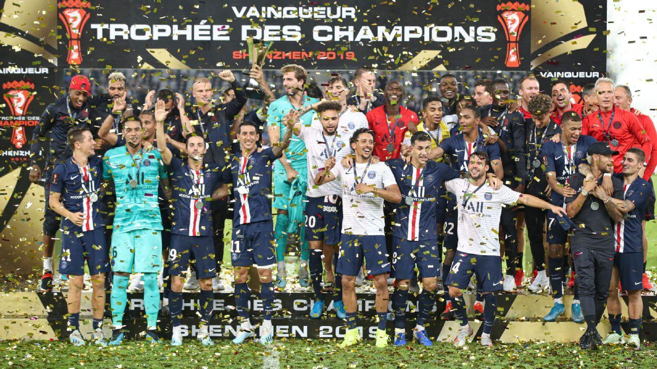 Di Maria magic earns Super Cup win for PSG