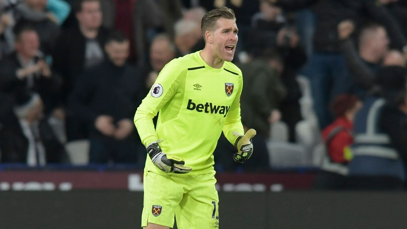 Liverpool sign Adrian as backup to Alisson