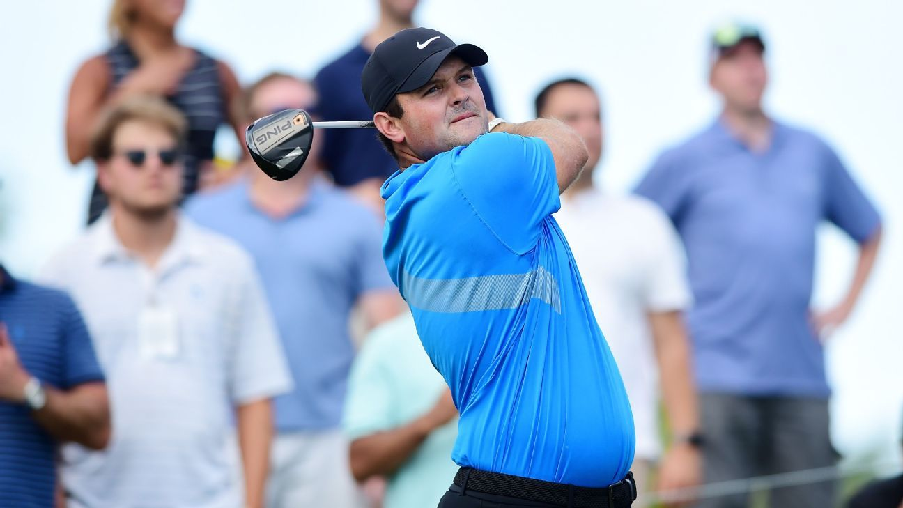 Patrick Reed leads by 3 after 66 as Tiger Woods stays in hunt