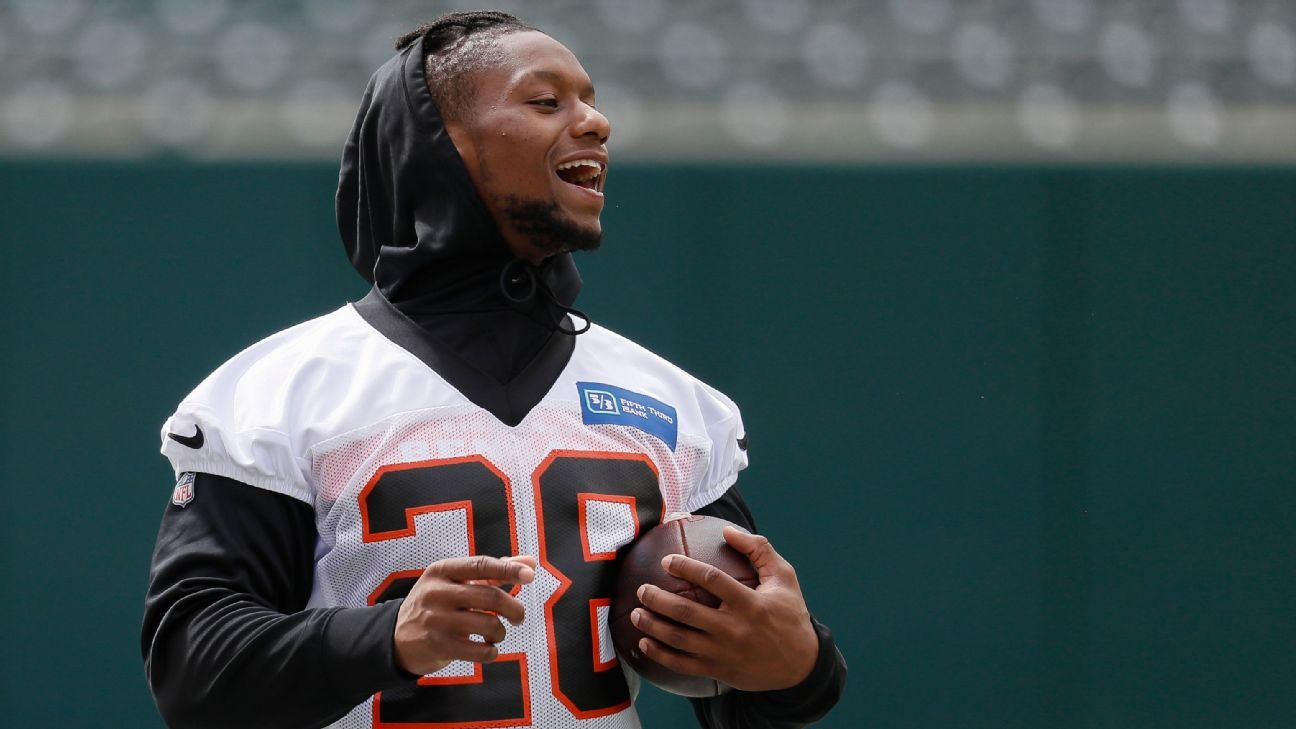 Joe Mixon ready for more in Bengals' new offense