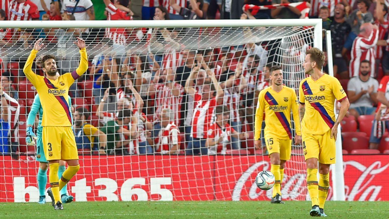 Image result for Ernesto Valverde vs Athletic Bilbao 2019