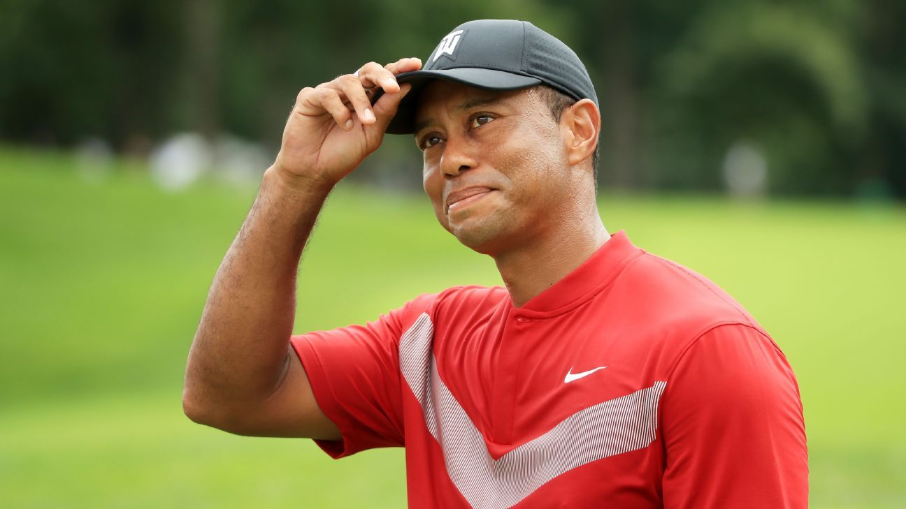 Tiger hints he may play in Presidents Cup
