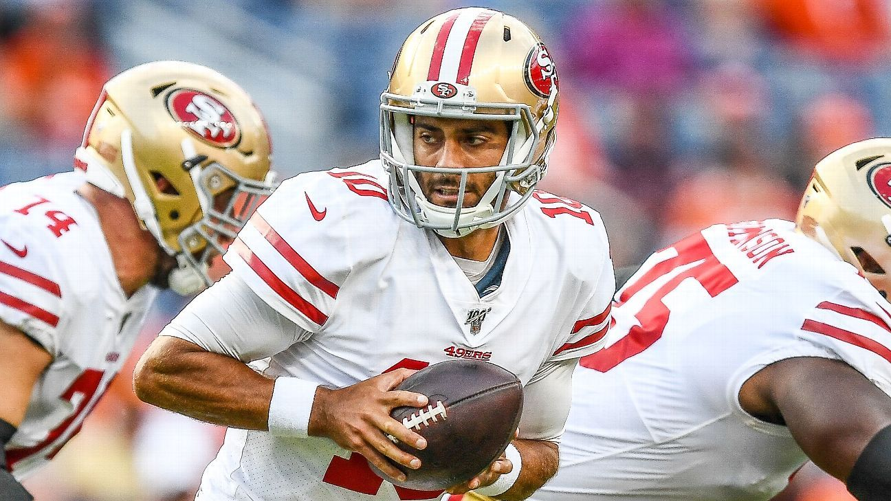 Garoppolo aims to bounce back at site of injury