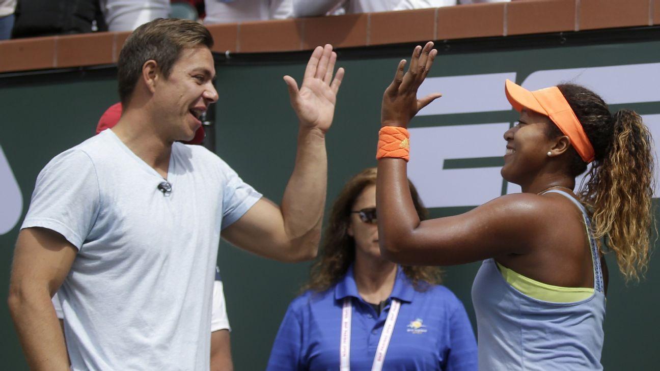 Tennis coach Sascha Bajin makes the best of an emotional year