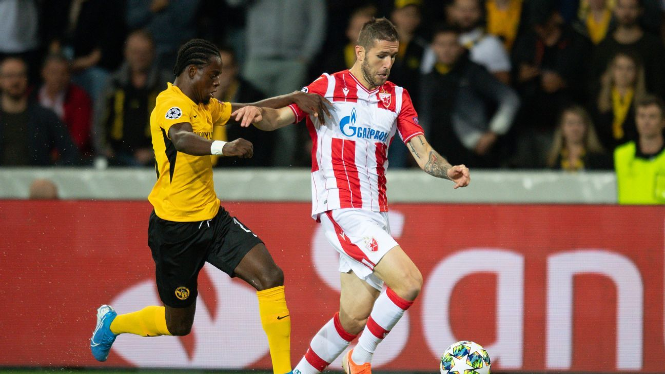 UCL: Red Star draw at Young Boys; Dinamo win