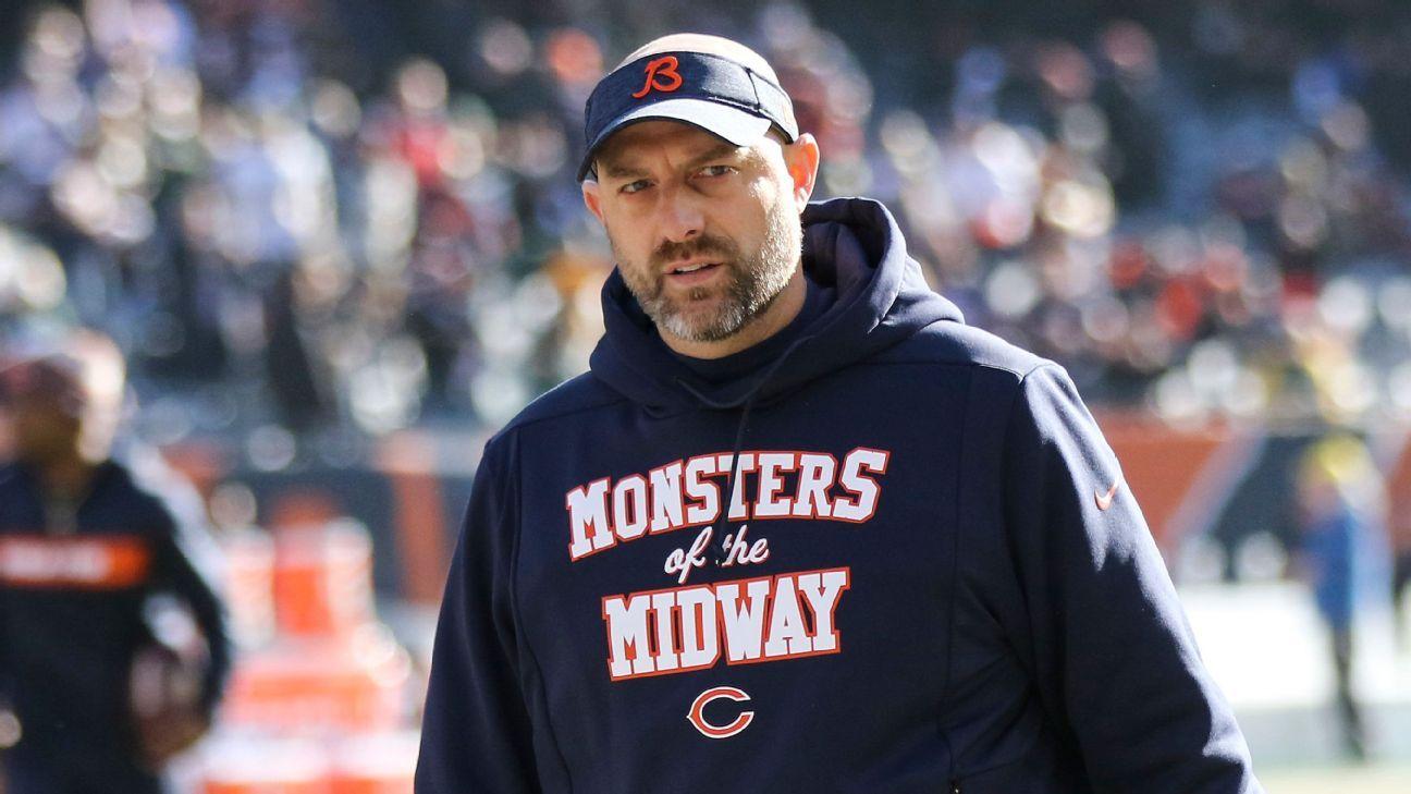 Bears' Nagy says he tested positive for COVID