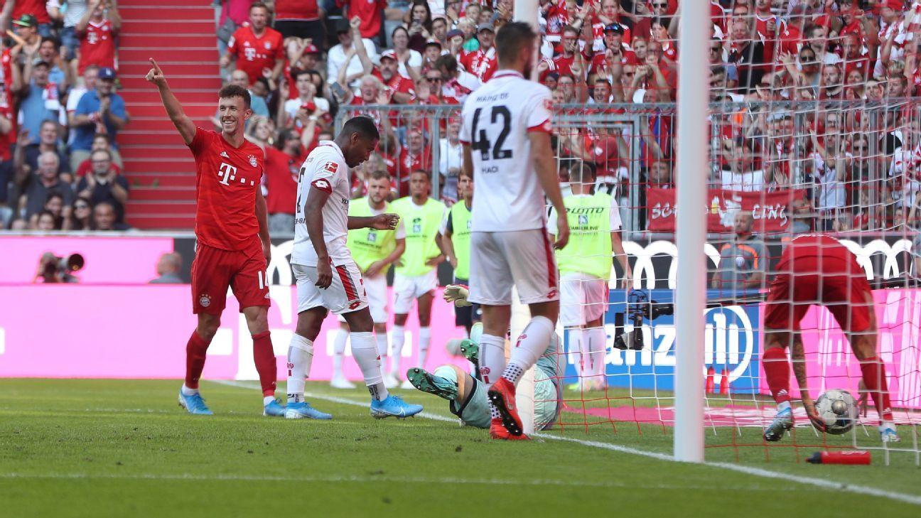 Bayern Munich hit Mainz for six again