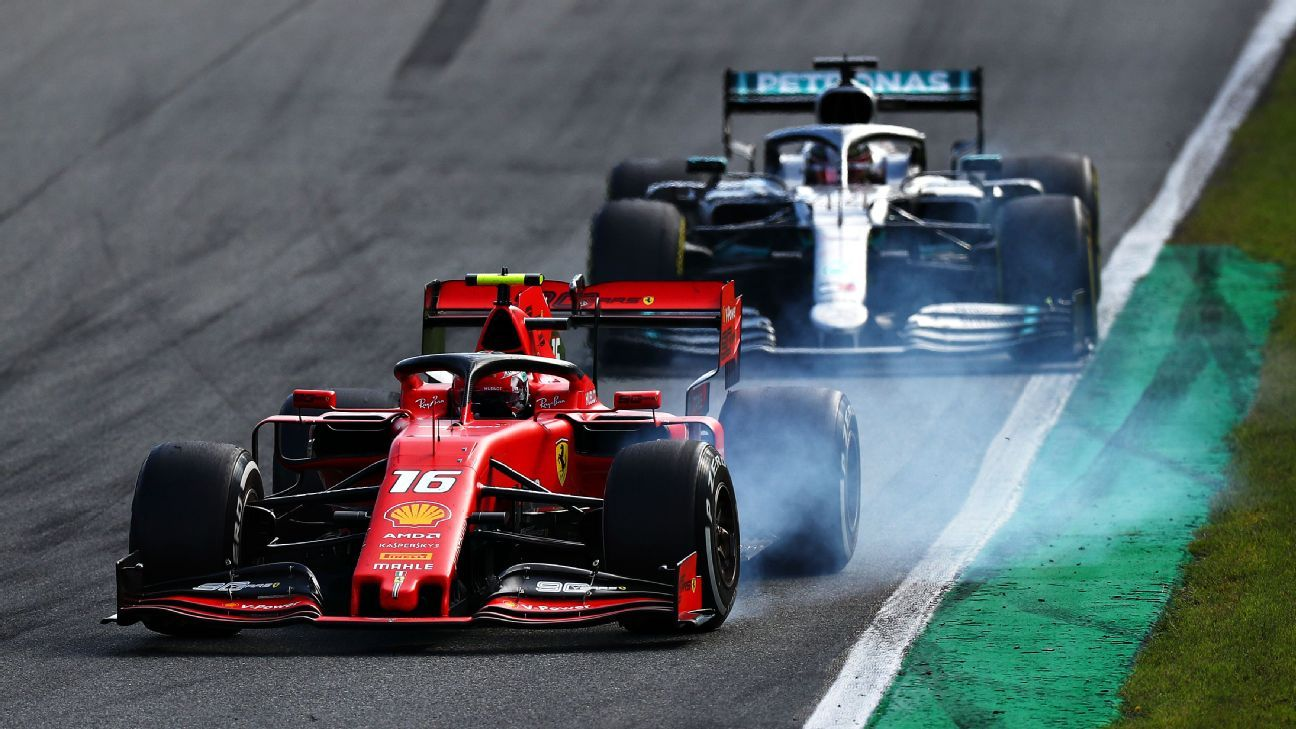 Why Leclerc avoided a time penalty during Hamilton duel