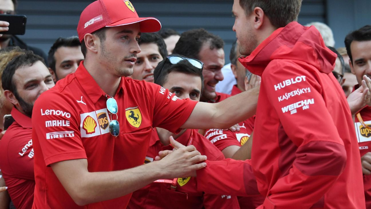 Has Leclerc broken Vettel? The events of Monza would suggest so
