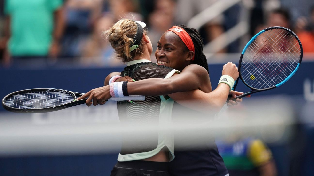 Coco Gauff, Catherine McNally win second doubles title as team