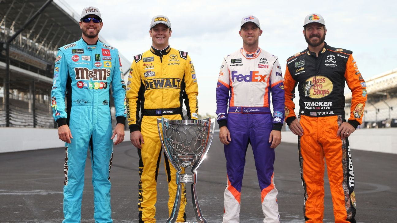 NASCAR StatWatch: Who are the favorites and long shots heading into the playoffs?