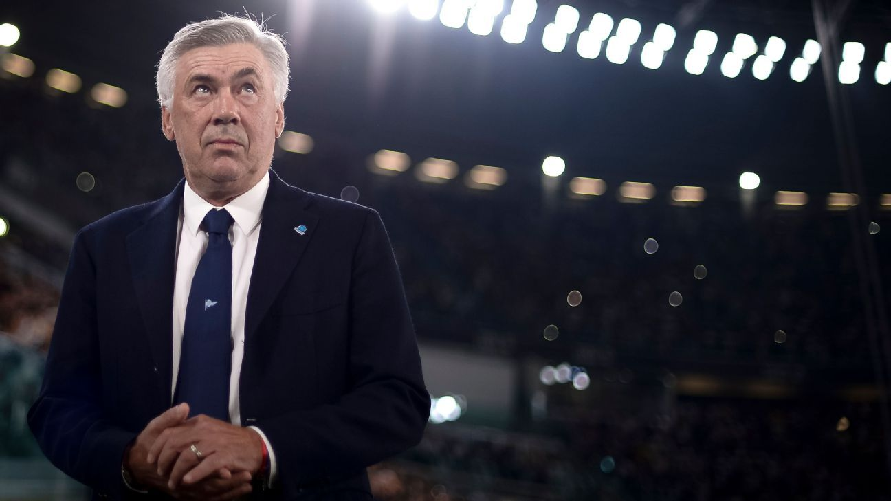 Ancelotti 'shocked' at state of Napoli dressing room