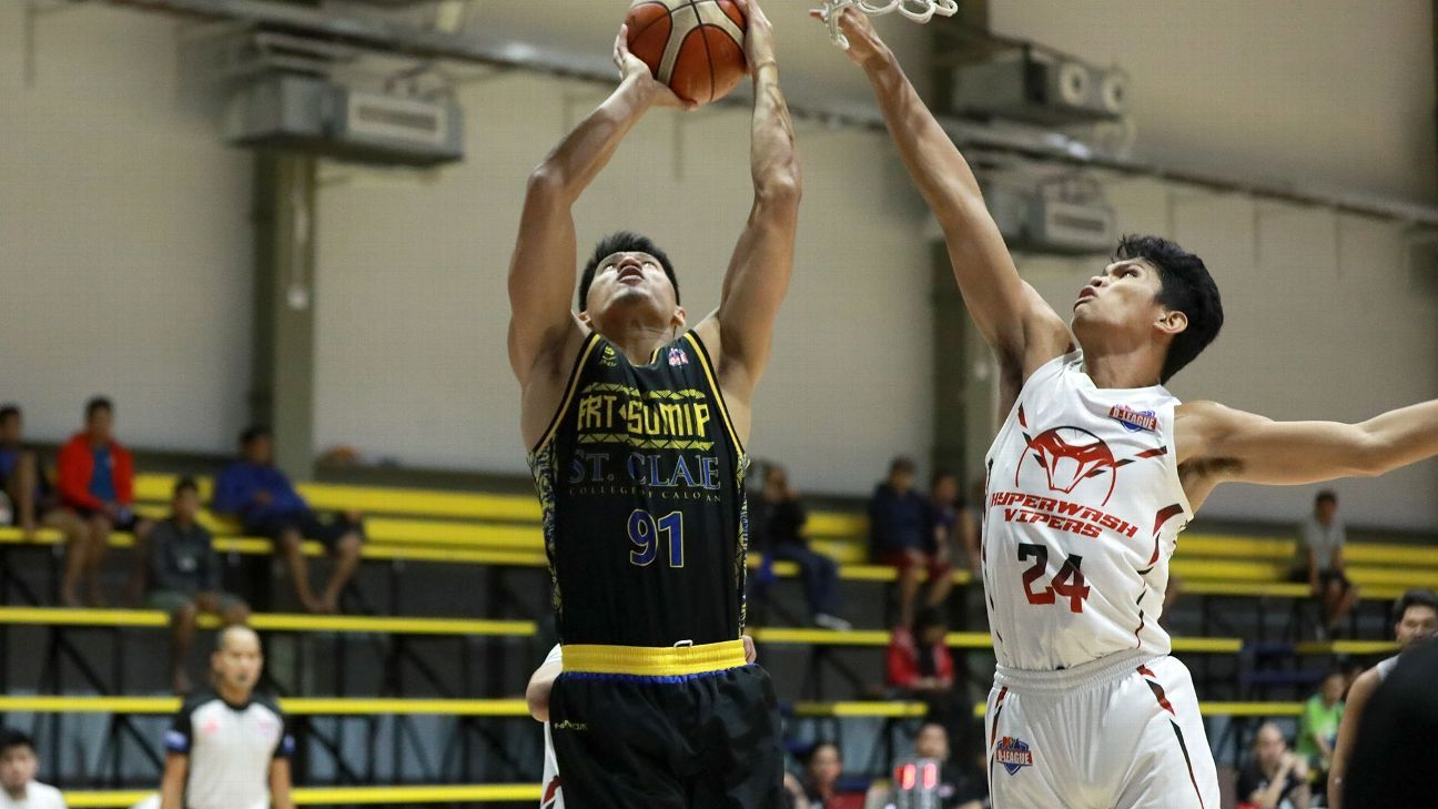 BRT Sumisip-St. Clare sets D-League record, beats Hyperwash to reach semis
