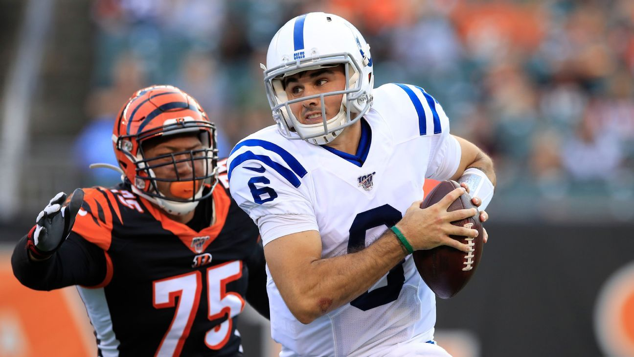 QB Kelly, fresh off two-game ban, waived by Colts