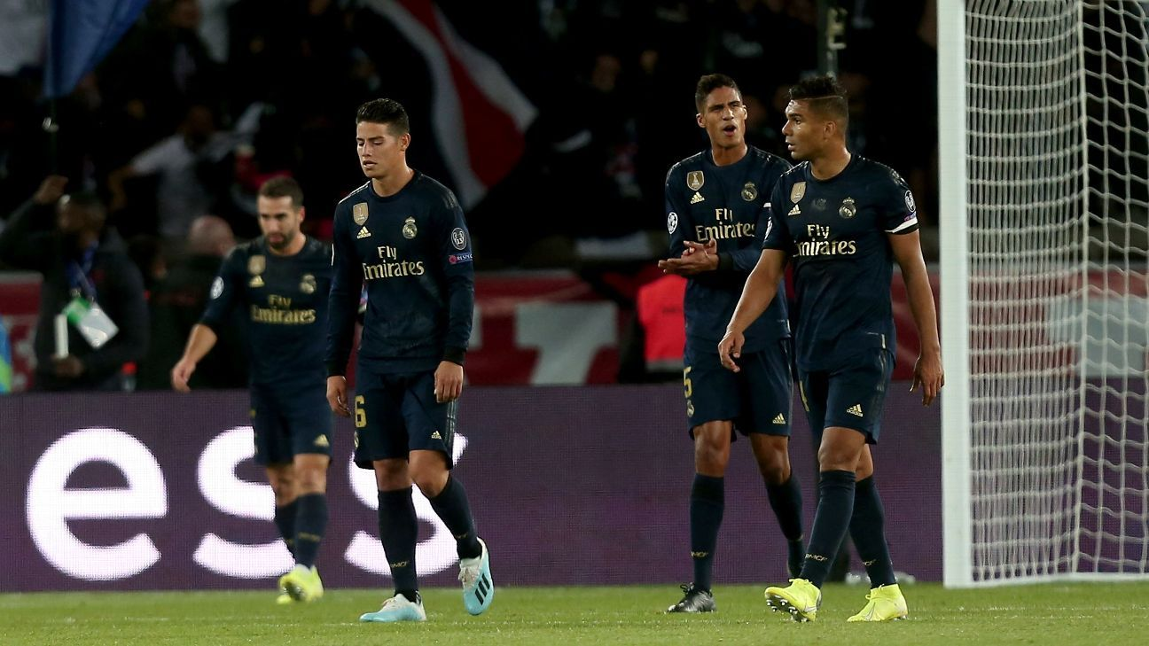 Zidane rips Real Madrid for lack of intensity
