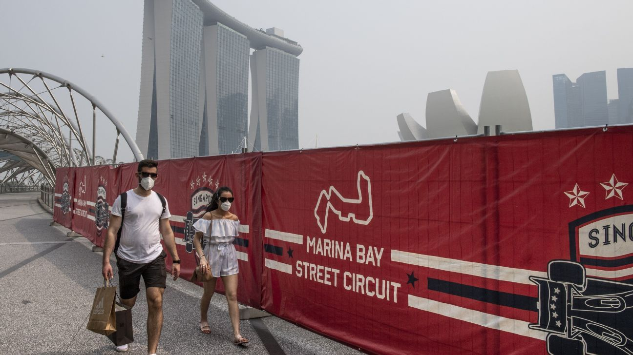 Singapore GP diary: 'Unhealthy' haze hangs over Singapore, then disappears