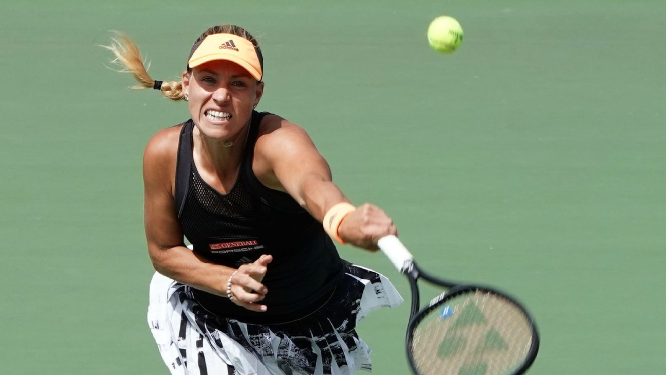 Kerber reaches semis after Keys stops with injury