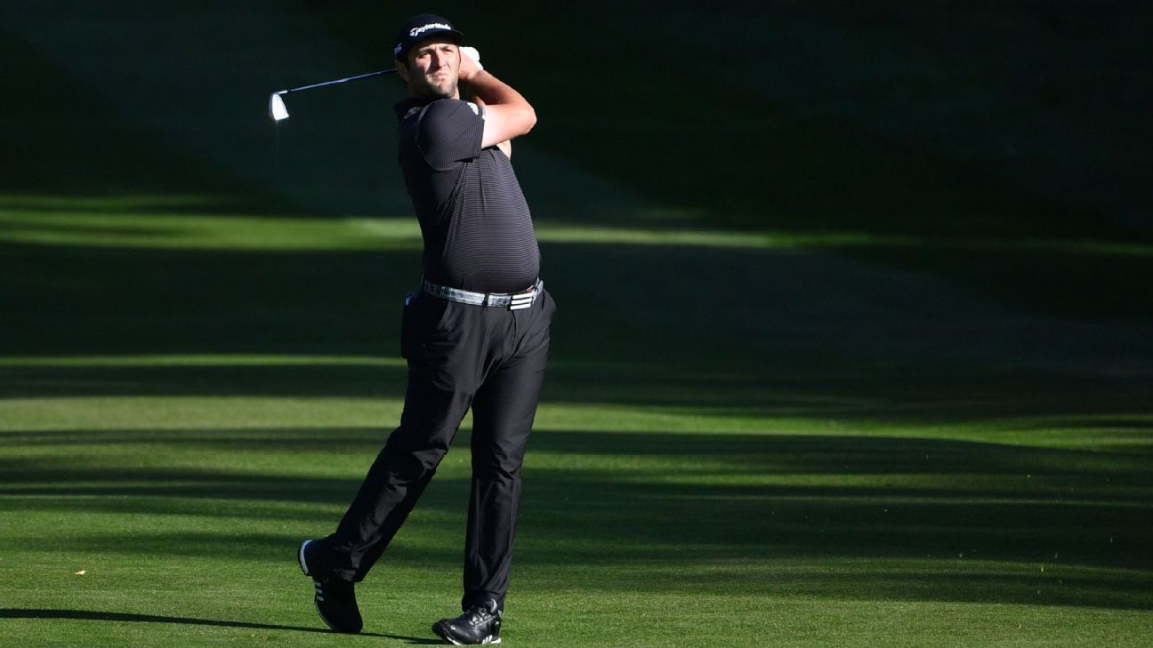 Willett, Rahm share 2nd-rd. lead at Wentworth