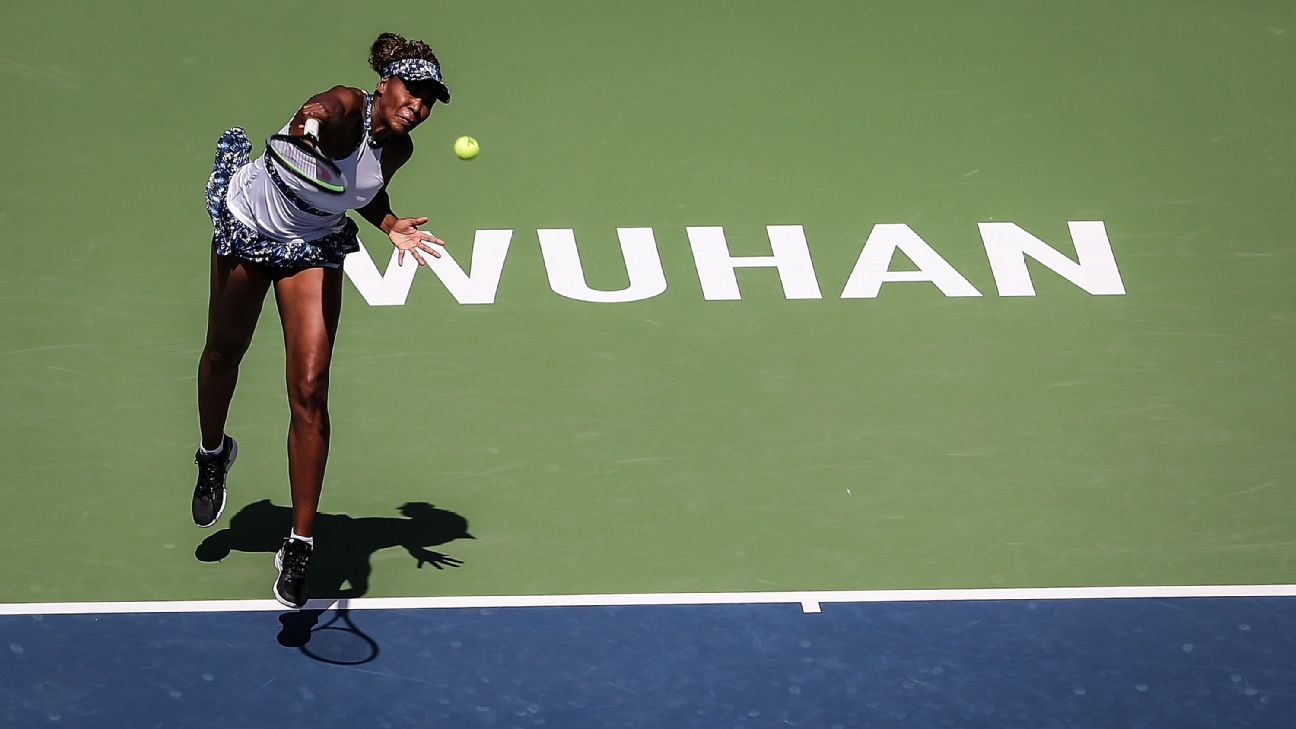 Venus bounced in 1st round by fellow American