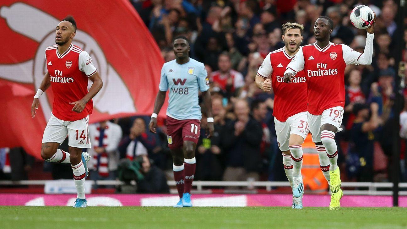 Nicolas Pepe, Matteo Guendouzi help inspire Arsenal's unlikely comeback win