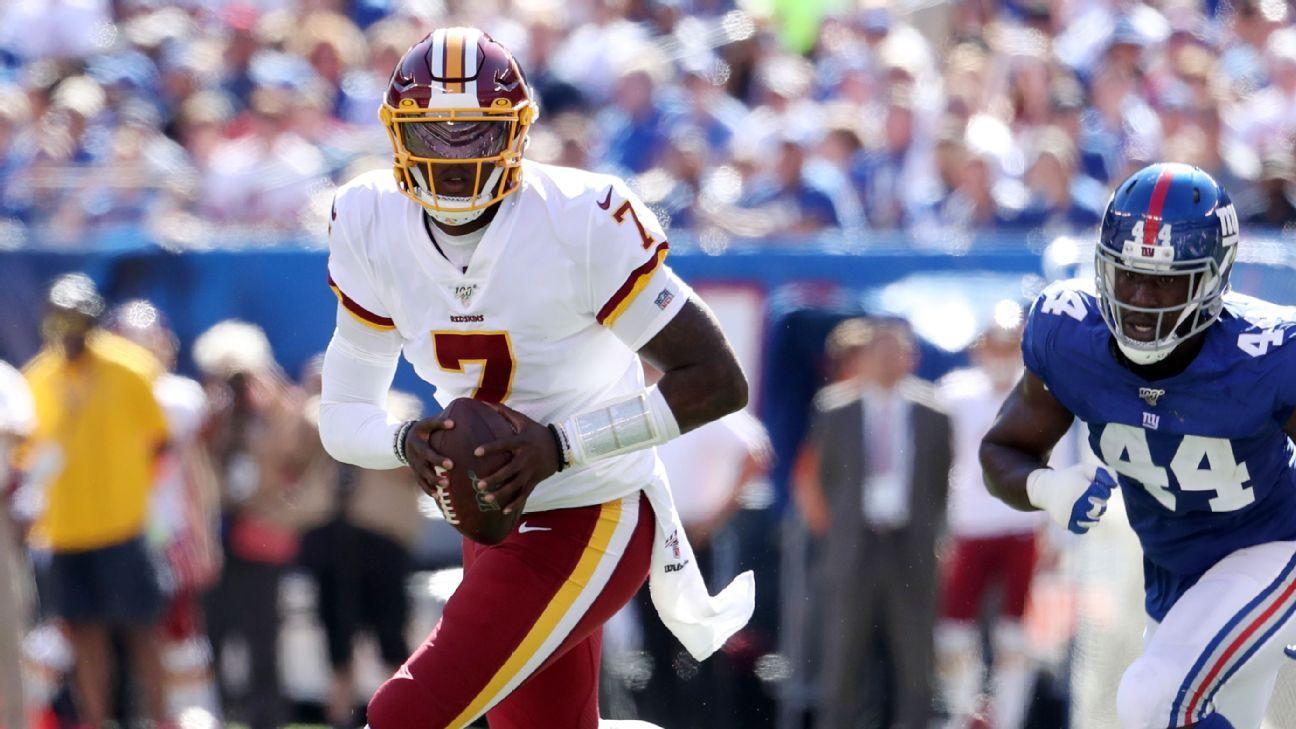 Redskins sticking to plan on Haskins post-Gruden