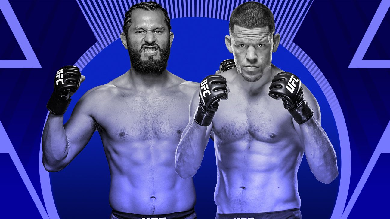 Masvidal, Diaz make weight for UFC 244 at MSG