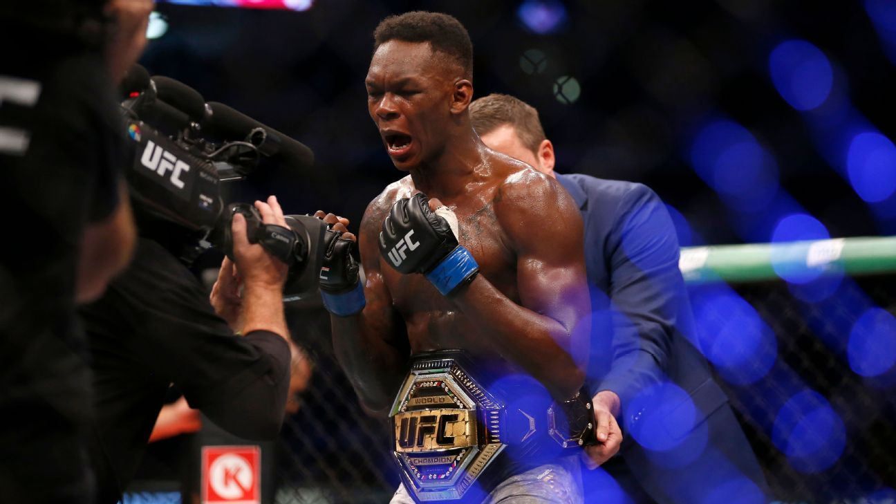Helwani's MMA thoughts: Adesanya's win among UFC's most memorable