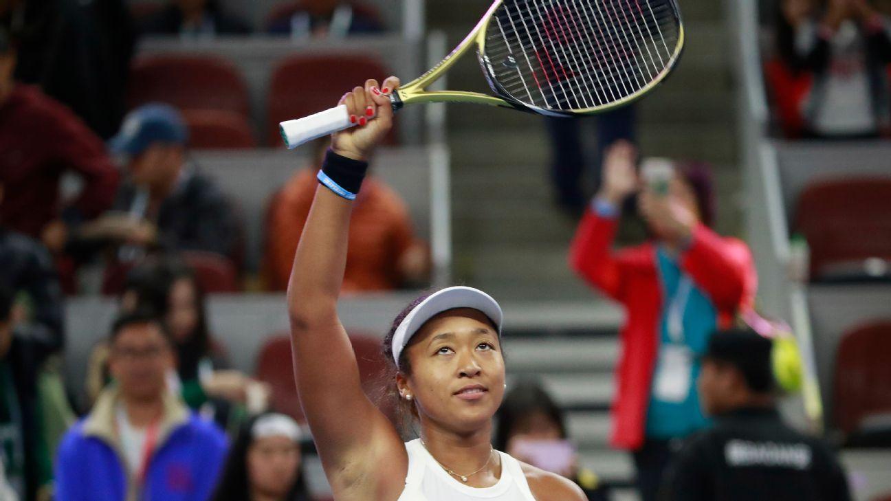 Naomi Osaka beats Ashleigh Barty to win China Open title