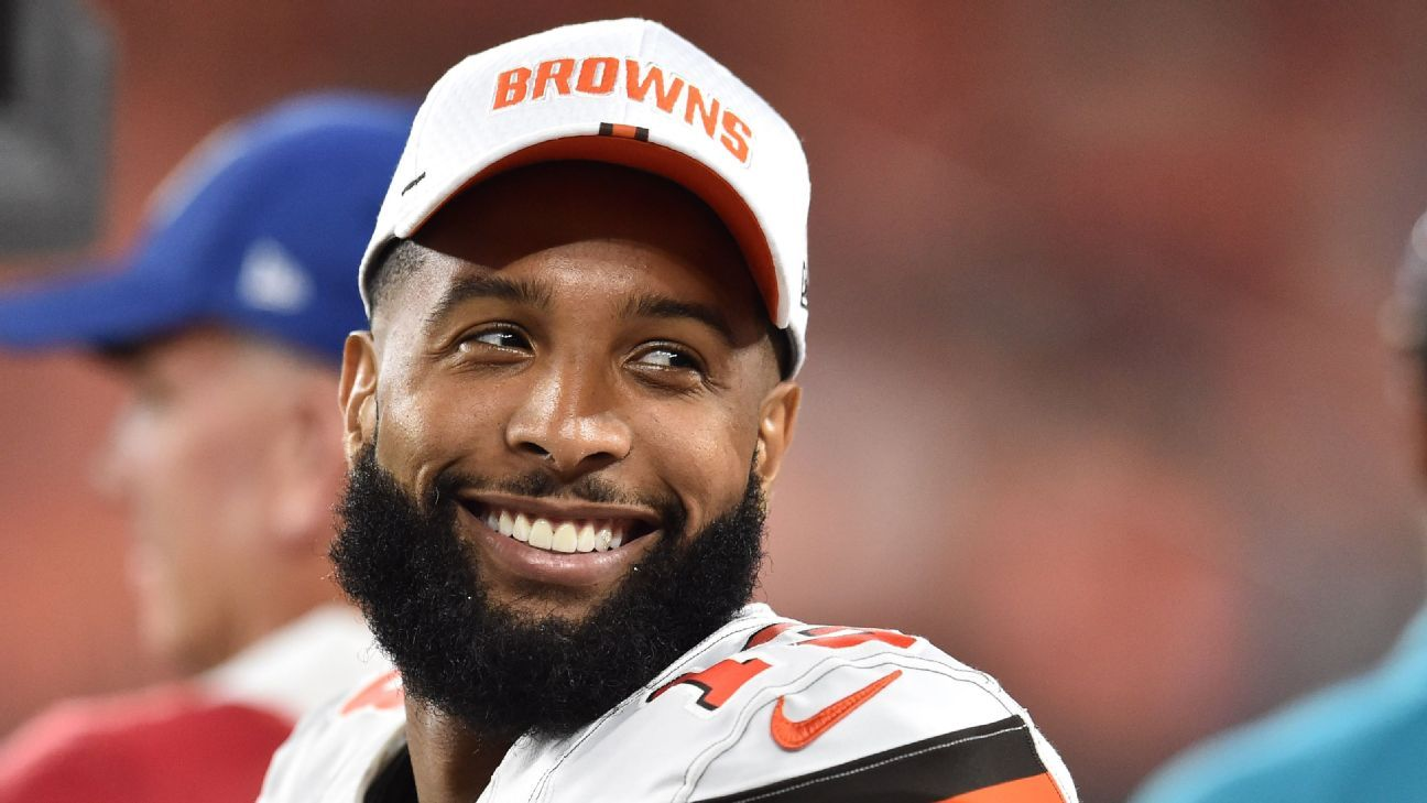 Discovering OBJ: Browns learn he's not guy 'everybody thinks he is'