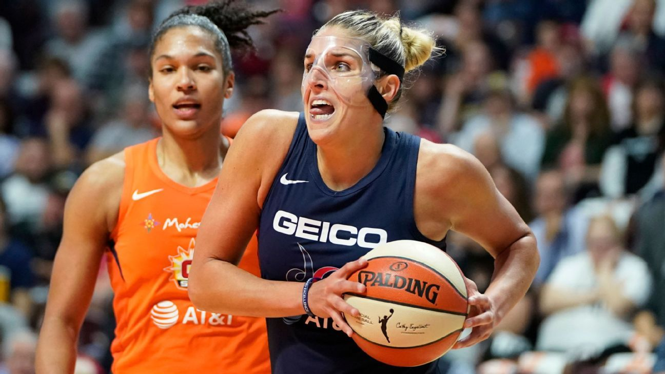 Determined Delle Donne the difference for Mystics in Game 3
